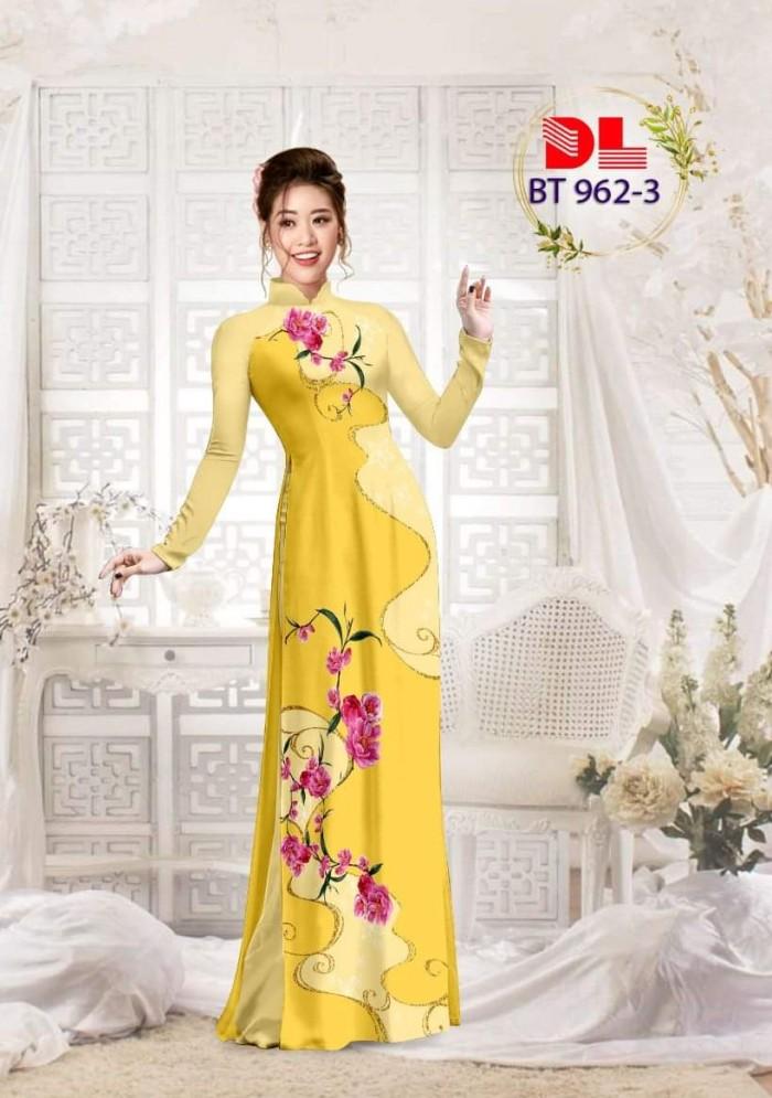Vải áo dài lụa ngọc mai cao cấp BT 9629