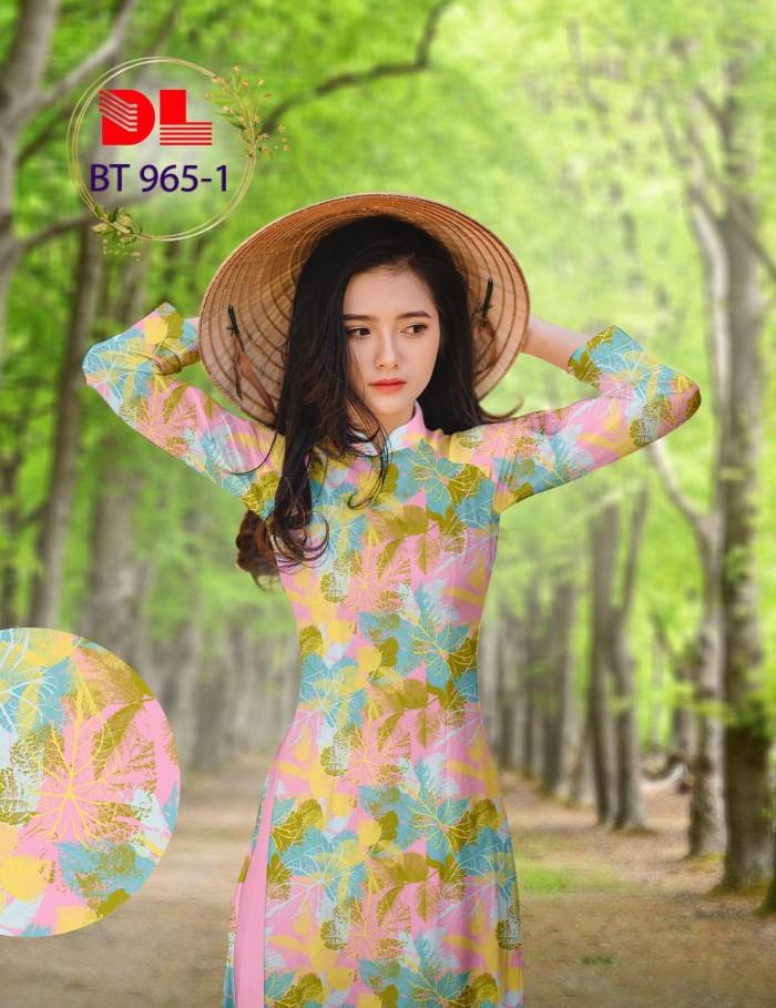 Vải áo dài lụa ngọc mai cao cấp BT 9650