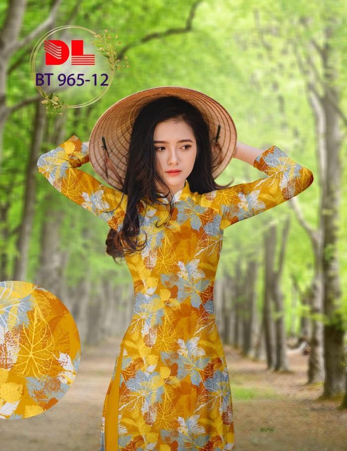 Vải áo dài lụa ngọc mai cao cấp BT 9653