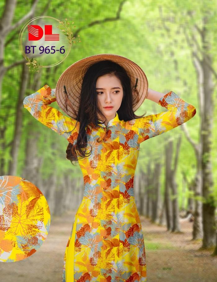 Vải áo dài lụa ngọc mai cao cấp BT 9651