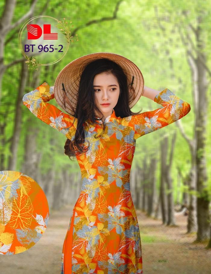 Vải áo dài lụa ngọc mai cao cấp BT 9654