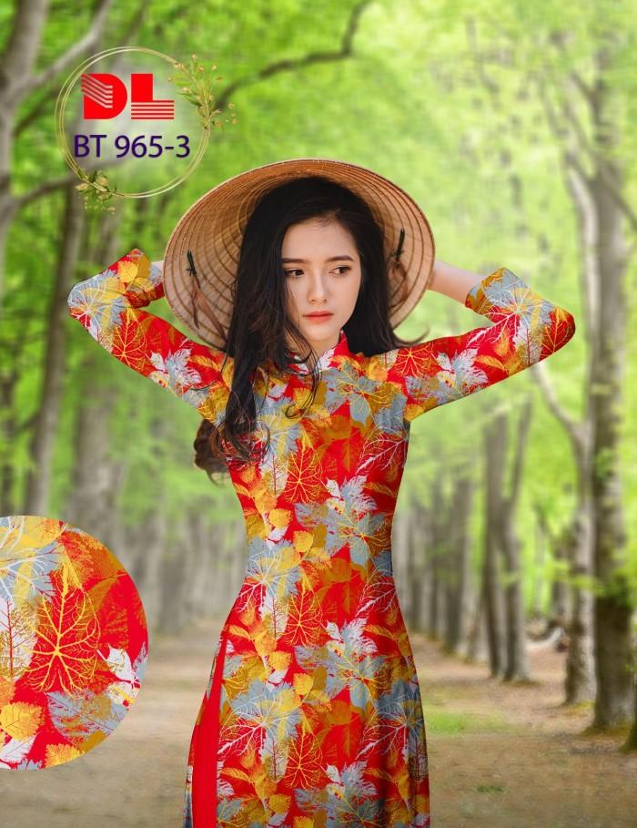 Vải áo dài lụa ngọc mai cao cấp BT 9655