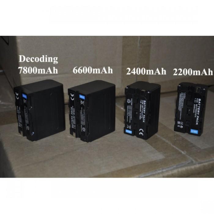 Pin máy quay NP-F970 Video camera LED cho máy quay F series2