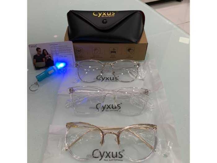 Chuyên kính Cyxus Usa lọc ánh sáng Xanh, tia Uv bảo vệ mắt1