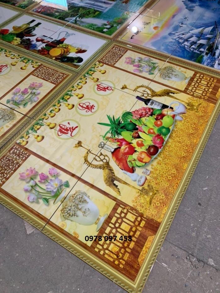 Tranh gạch 3D - tranh phòng thờ Quảng Nam
