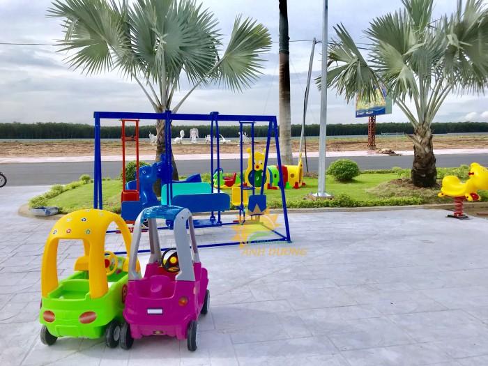 Chuyên cung cấp xe chòi chân ôtô cho trường mầm non, khu vui chơi, TTTM6