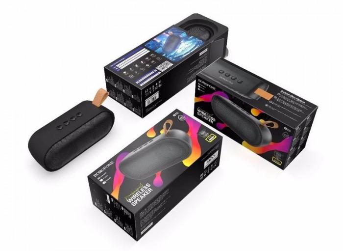 Loa bluetooth borofone BR8 nghe nhạc gọi điện FM hỗ trợ thẻ nhớ USB Âm T0