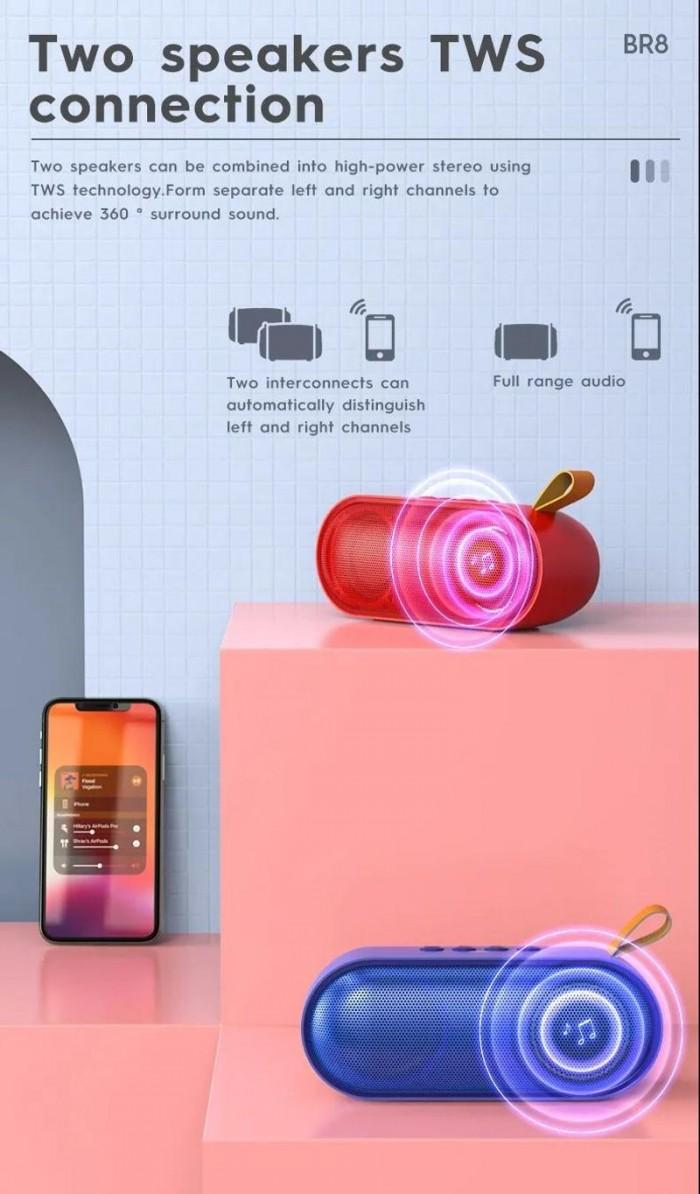 Loa bluetooth borofone BR8 nghe nhạc gọi điện FM hỗ trợ thẻ nhớ USB Âm T2