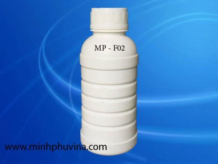 Chai nhựa HDPE đựng hóa chất 500ml, khuy nắp 45 mm0