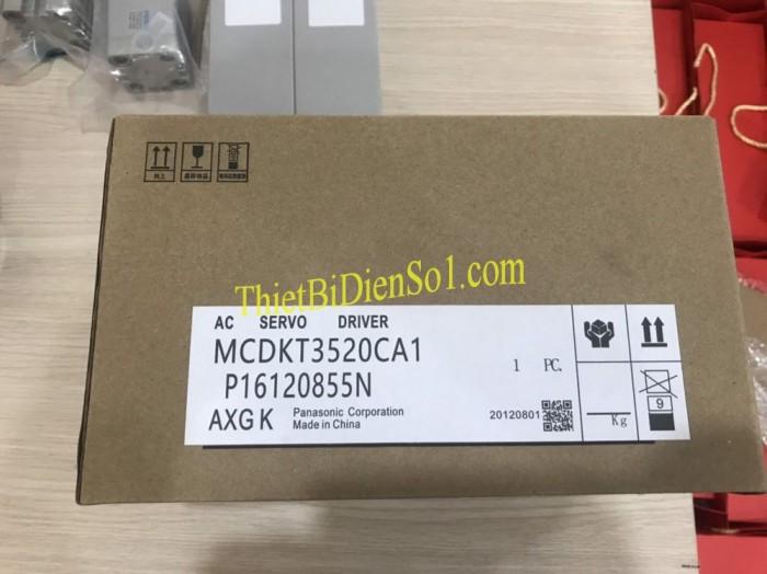 Bộ điều khiển servo Panasonic MCDKT3520CA11