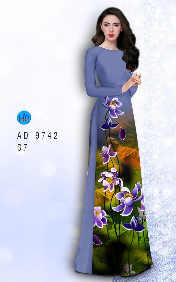 Vải áo dài lụa đông hưng 97420
