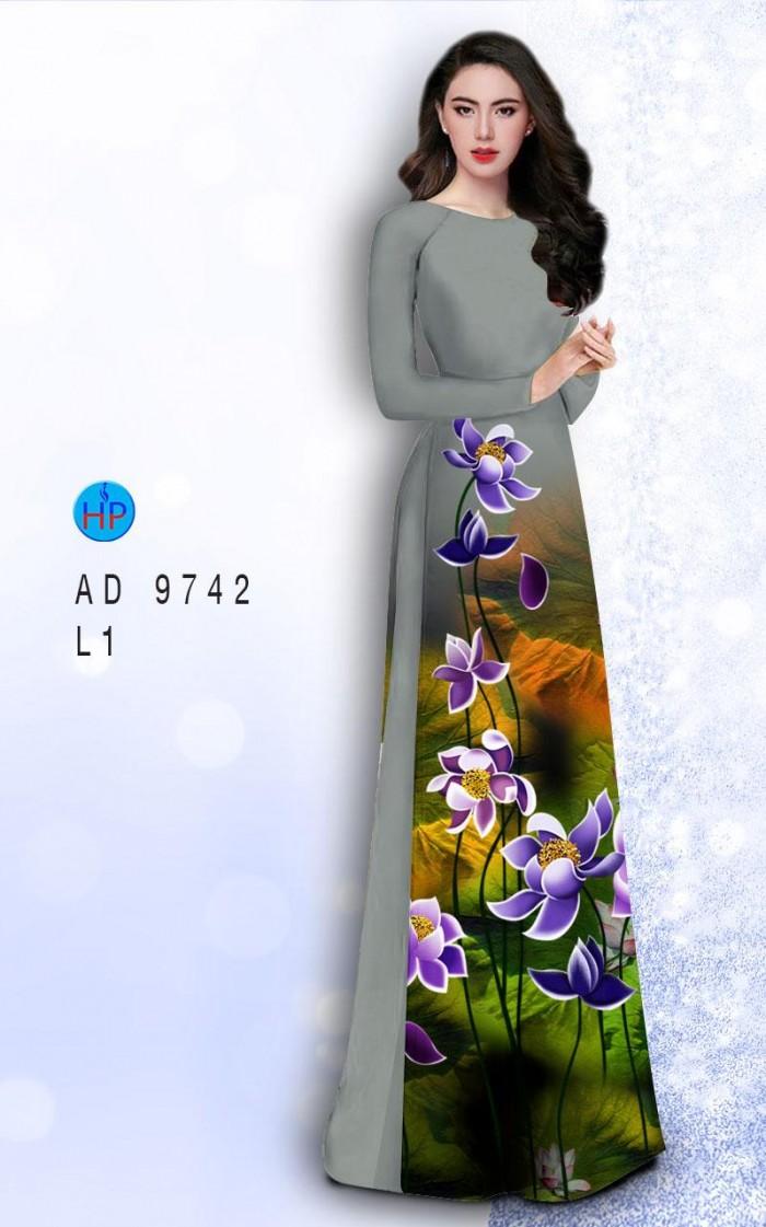 Vải áo dài lụa đông hưng 97422
