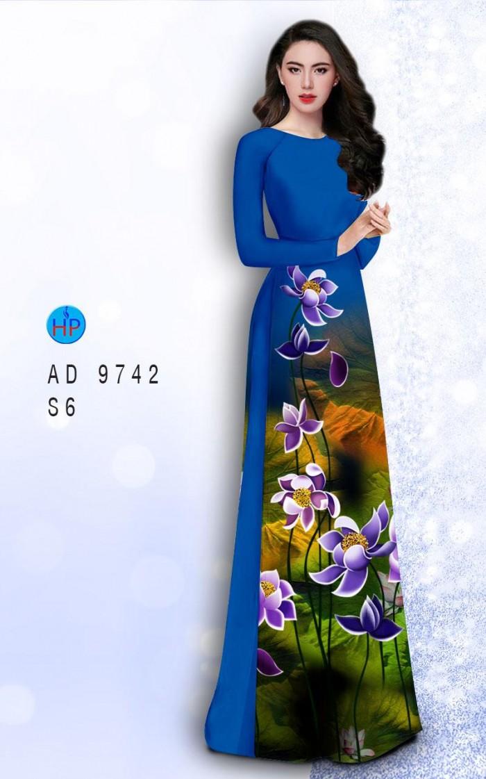 Vải áo dài lụa đông hưng 974210