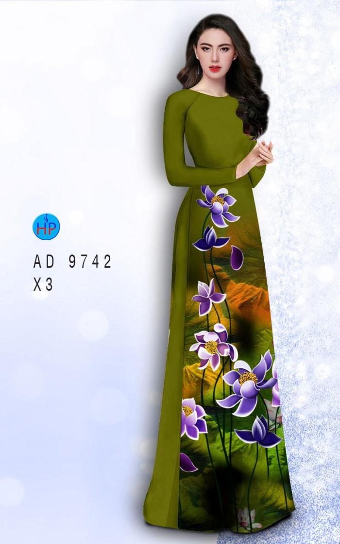 Vải áo dài lụa đông hưng 97425
