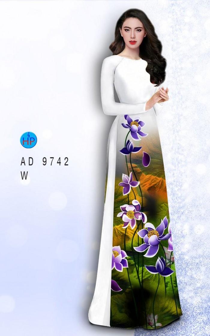 Vải áo dài lụa đông hưng 97424