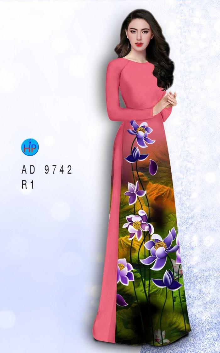 Vải áo dài lụa đông hưng 974212