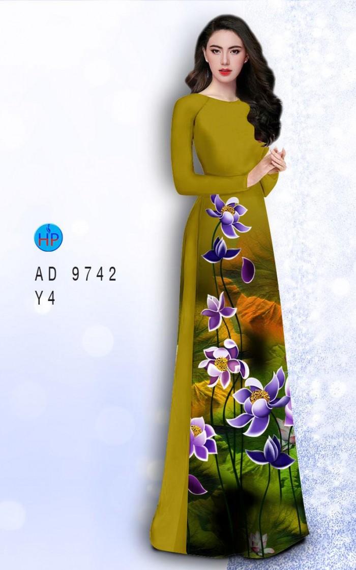 Vải áo dài lụa đông hưng 974213