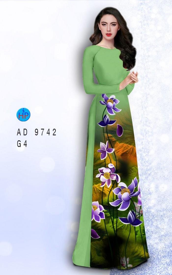 Vải áo dài lụa đông hưng 97426