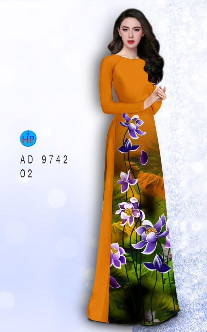 Vải áo dài lụa đông hưng 97428