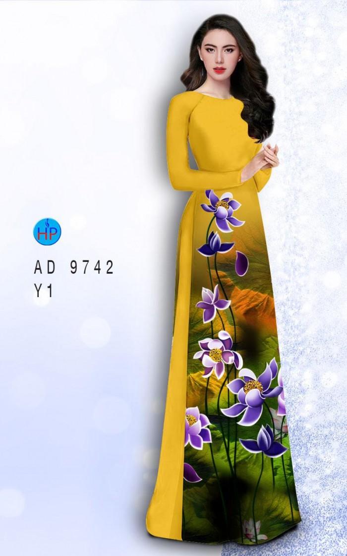 Vải áo dài lụa đông hưng 974215