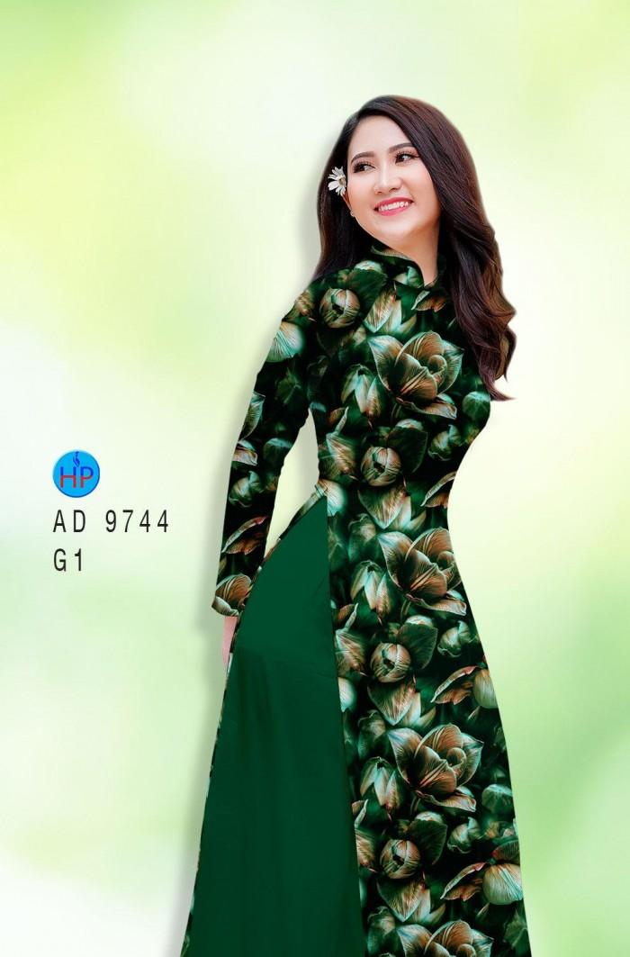 Vải áo dài lụa đông hưng 97444