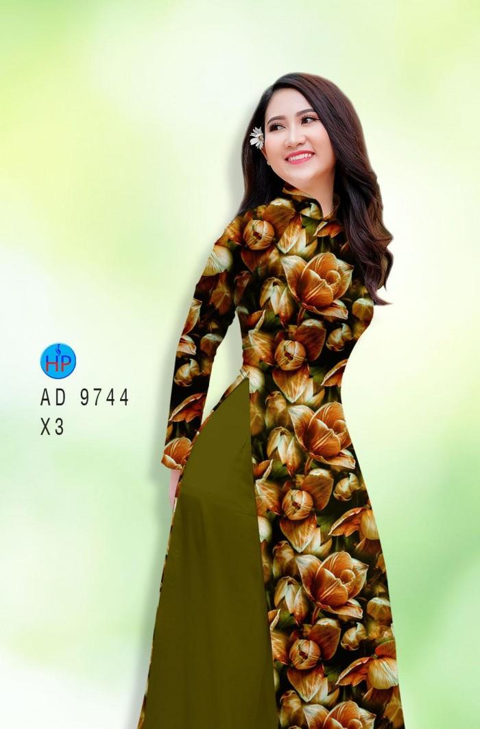 Vải áo dài lụa đông hưng 974415