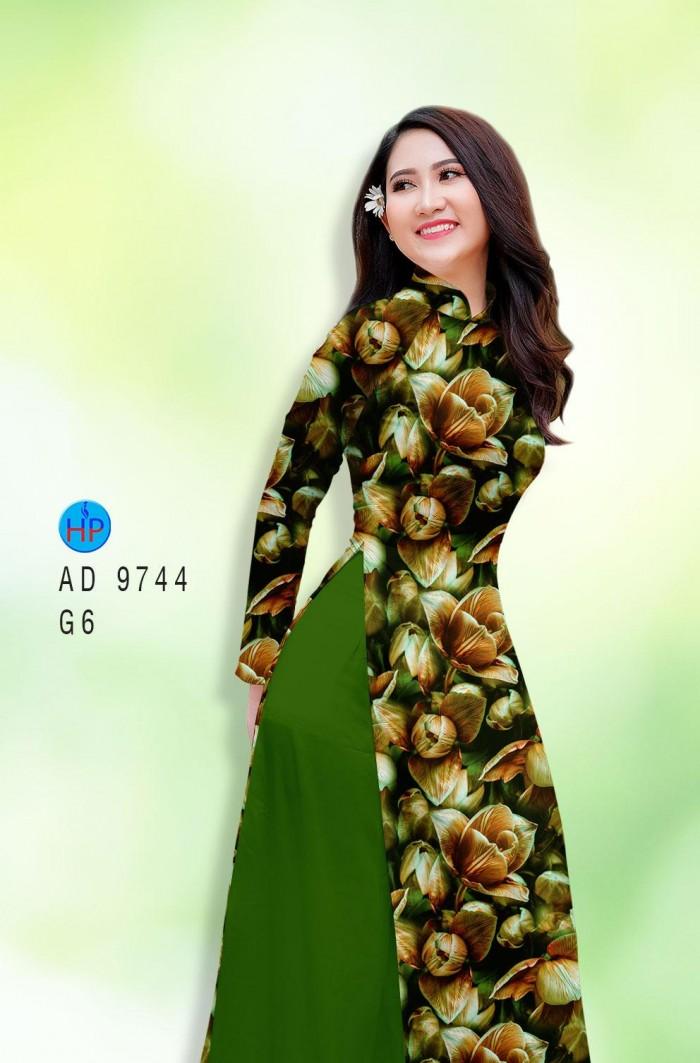 Vải áo dài lụa đông hưng 974411