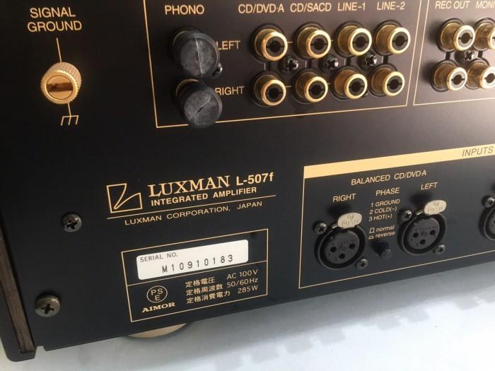 Ban chuyên ampli luxman l507f đẹp long lanh