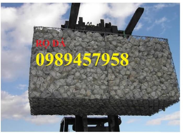 Báo giá Rọ đá 2x1x0,5, 2x1x1 và 1x1x1, Rọ thép 2x1x1m - Rọ thép có sẵn9