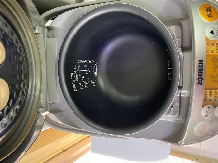 Nồi cơm điện zojirushi 1L np-ne10 có áp suất4