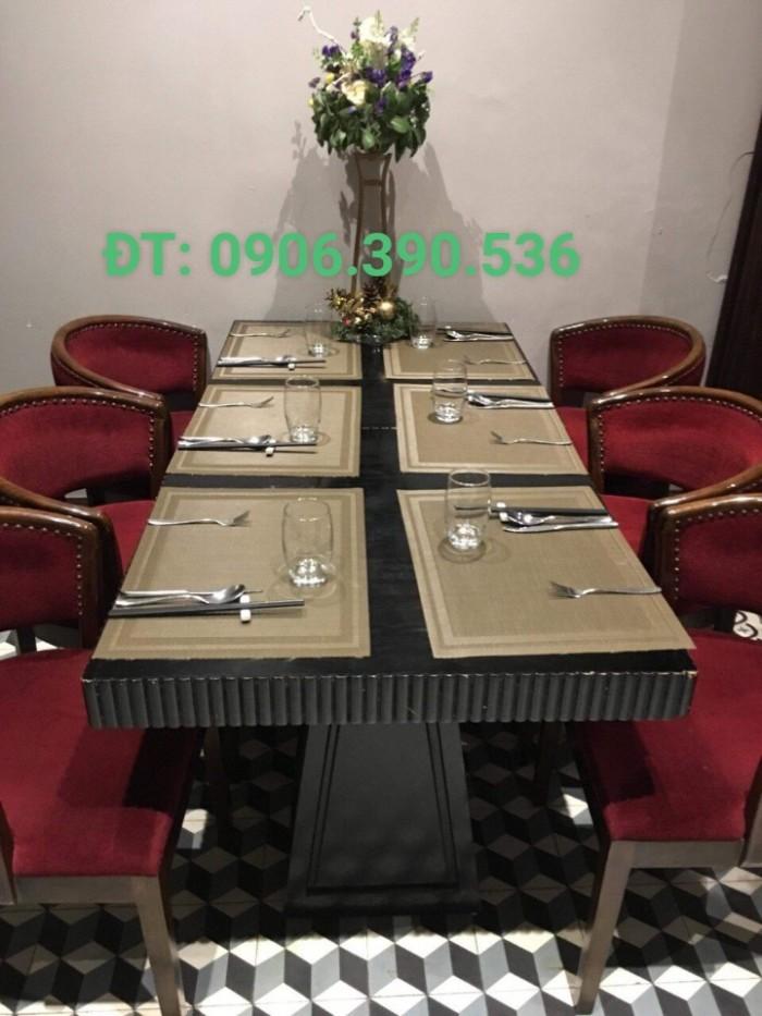 Tấm lót bàn ăn phong cách châu âu3