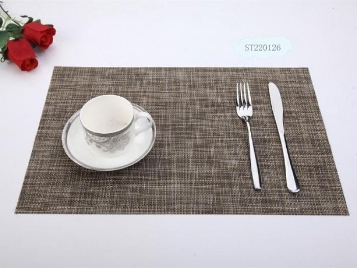 Tấm lót bàn ăn phong cách châu âu0