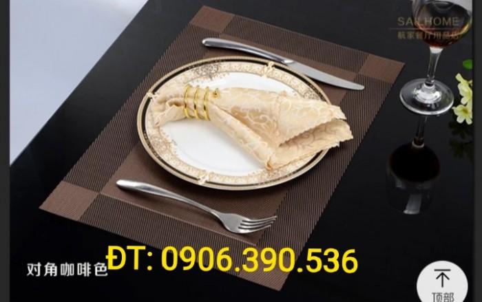 Tấm lót bàn ăn phong cách châu âu2