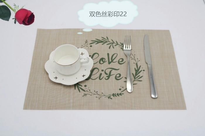 Tấm lót bàn ăn phong cách châu âu4
