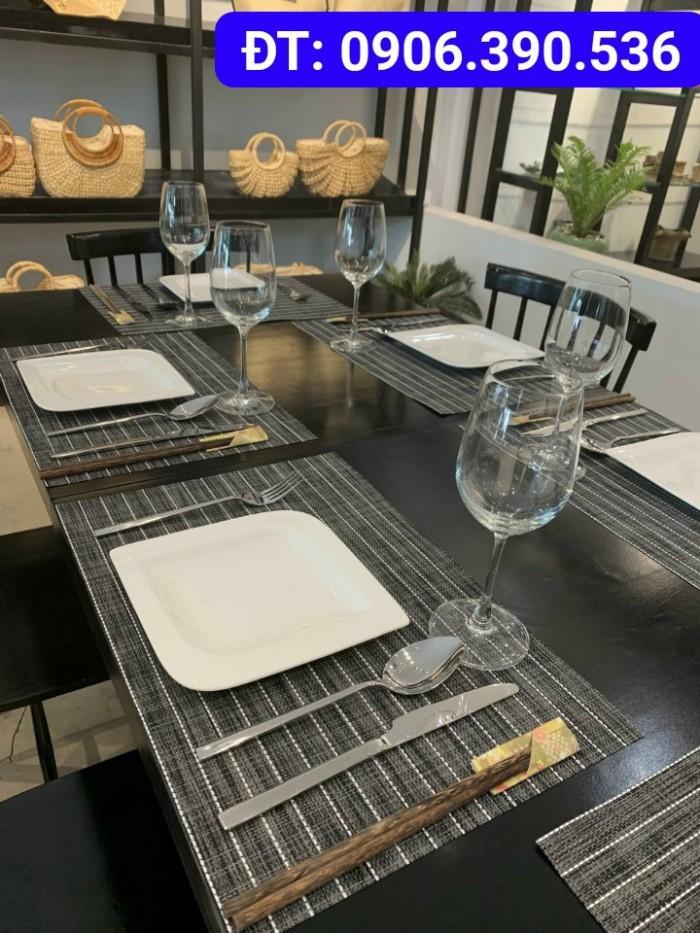 Tấm lót bàn ăn phong cách châu âu11