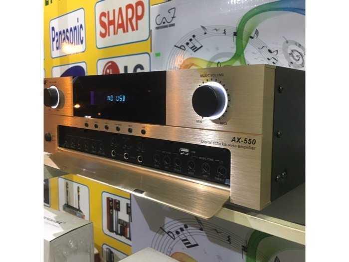 Amli hát karaoke caf-ax550 nhập nguyên con.0