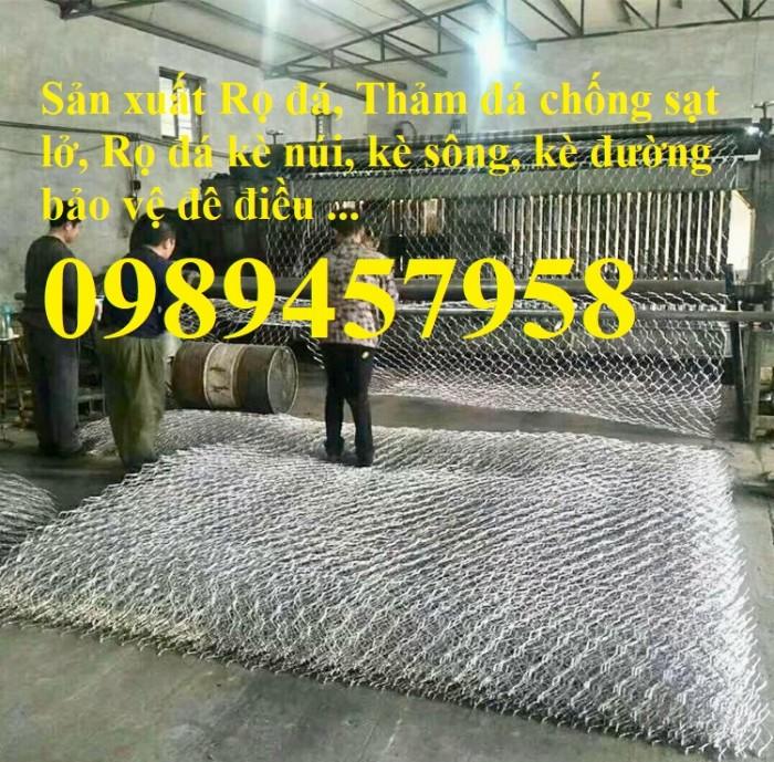 Nơi sản xuất Rọ đá mạ kẽm và Rọ đá bọc nhựa tốt nhất Hà Nội1