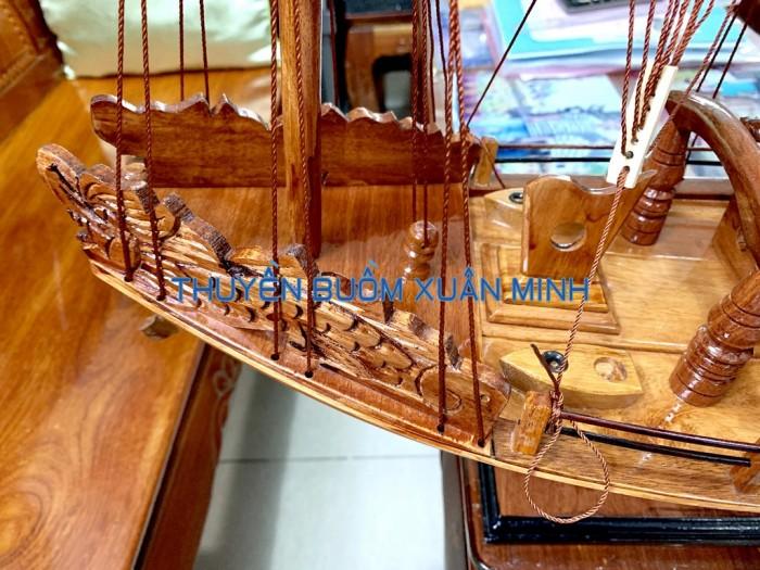 Mô Hình Thuyền Buồm Gỗ Hạ Long Rồng | Gỗ Giáng Hương | Thân 60cm2