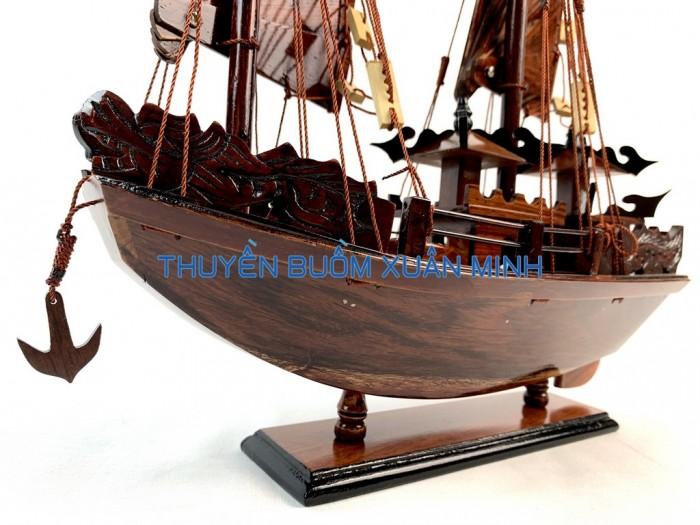 Mô Hình Thuyền Buồm Gỗ Hạ Long Rồng | Gỗ Cẩm Lai | Thân 40cm5