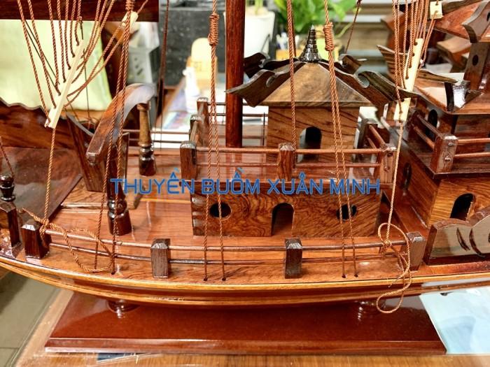 Mô Hình Thuyền Buồm Gỗ Hạ Long Rồng | Gỗ Cẩm Lai | Thân 60cm3