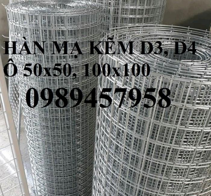 Lưới thép làm chuồng cọp, Lưới thép làm giàn lan phi 4 ô 50x50 và 50x1001