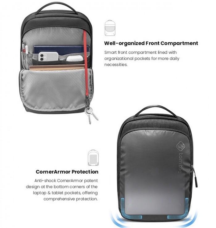 Balo Tomtoc (USA) Premium Lightweight Business Corner Armor Dành Cho Macbook2