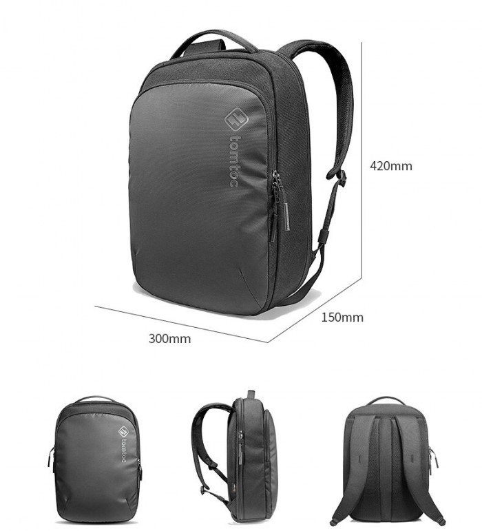 Balo Tomtoc (USA) Premium Lightweight Business Corner Armor Dành Cho Macbook3