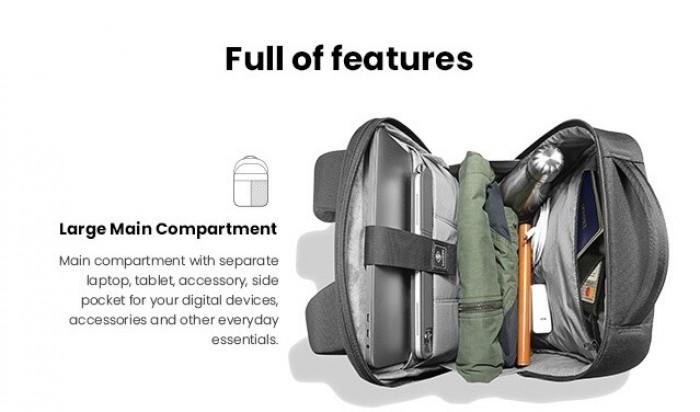 Balo Tomtoc (USA) Premium Lightweight Business Corner Armor Dành Cho Macbook8