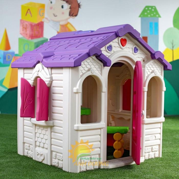 Nhà chơi dạng nhà cổ tích dành cho trẻ nhỏ mẫu giáo, mầm non giá SỐC3