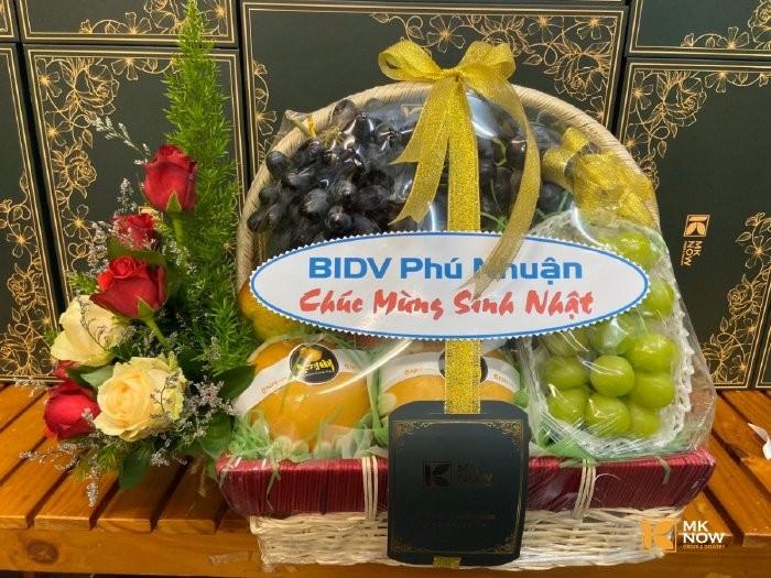 Đặt giỏ quà chúc mừng sinh nhật khách hàng - FSNK180 - Giao tận nơi - Gọi: 0373 600 600 (24/24)0