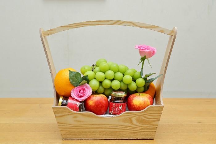Đặt Giỏ trái cây nhập khẩu tươi ngon- Giỏ quà tặng Suong's House SH01 Giao tận nơi - Gọi:0938 39 59 39 (24/24))0