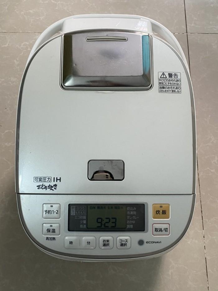 Nồi cơm điện cao tần IH-PANASONIC 1.8L màu trắng tinh khôi0