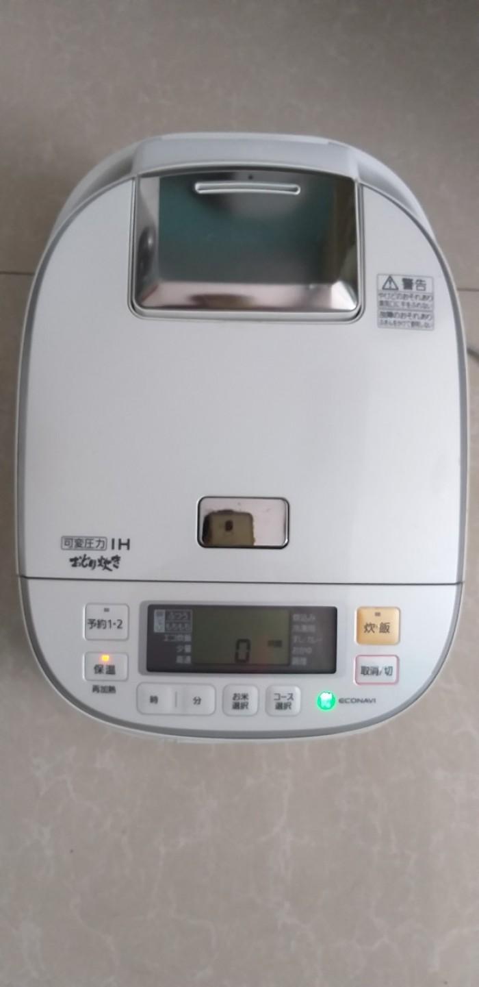 Nồi cơm điện cao tần IH-PANASONIC 1.8L màu trắng tinh khôi2