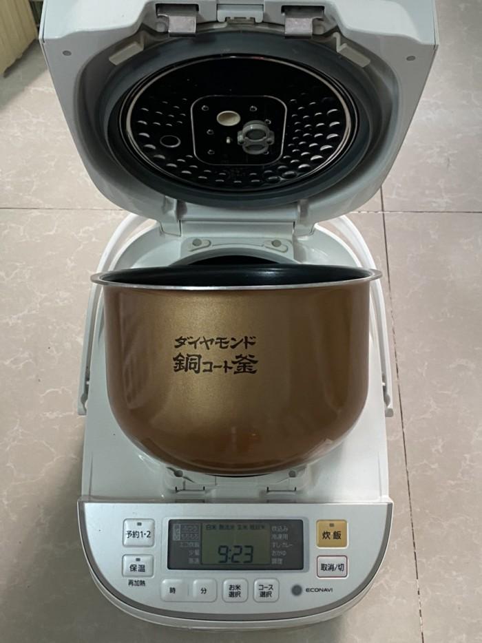 Nồi cơm điện cao tần IH-PANASONIC 1.8L màu trắng tinh khôi3